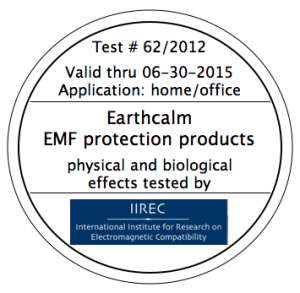 Foto certificat_efficacite_earthcalm_par_iirec
