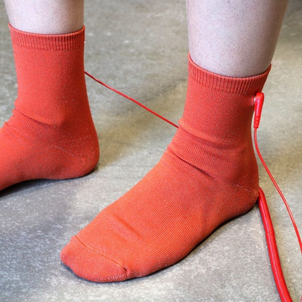 calcetines de earthing o grounding